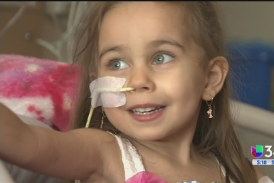 Urge un trasplante de corazón para Daniela