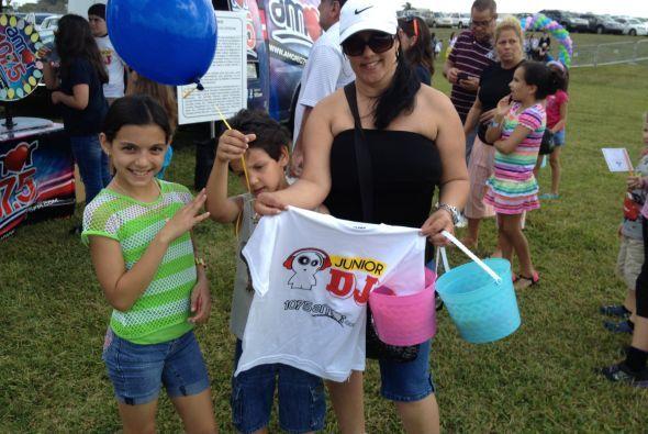 107.5 Amor celebró con la ciudad del Doral su evento Eggstravaganza en e...