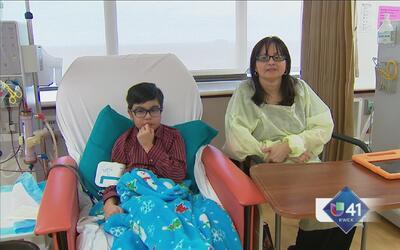 Niños piden un trasplante a Santa Claus