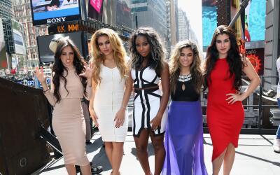 NEW YORK, NY - AUGUST 27: Camila Cabello, Dinah-Jane Hansen, Normani Kor...