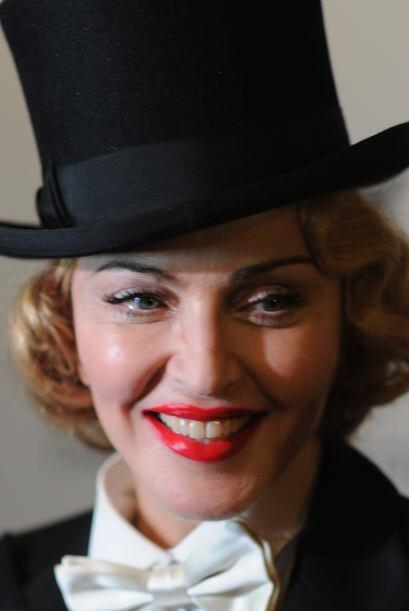 5. Madonna  Ganancias netas: $125 millones.  Presencia en radio y tv: 13...