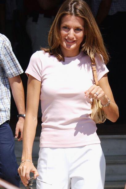 La princesa de Asturias siempre ha tenido una figura 'petit' y muy estre...