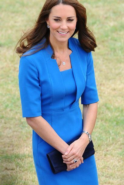 Ya se comentaba que la duquesa no quería esperar más por su segundo bebé.
