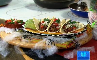 Receta de Tacos de Tripa en la cocina de Karla