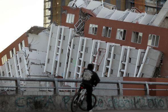 El terremoto del 2010 en Chile, considerado el quinto más fuerte...