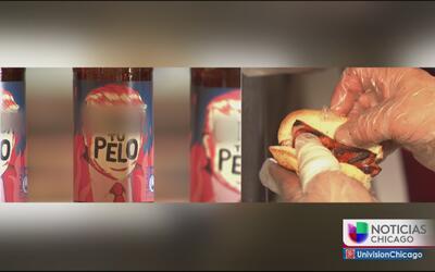 Hot dog y cervezas inspirados en Donald Trump