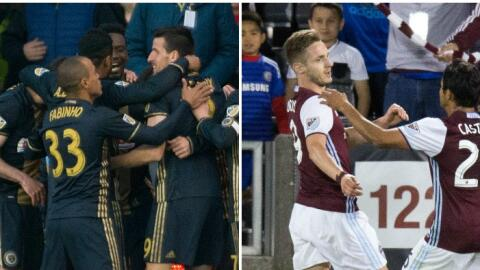 Colorado Rapids & Philadelphia Union