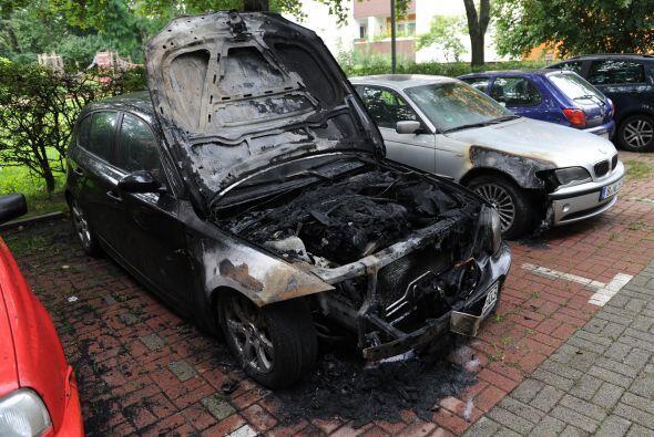 En los últimos días, la ciudad de Berlín ha registrado el incendio de ce...