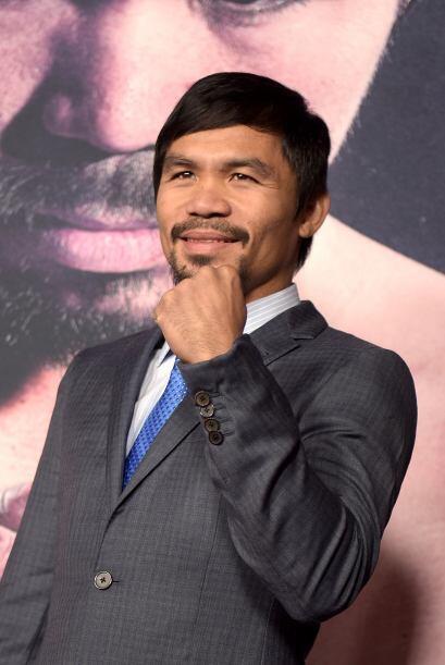 Manny Pacquiao es uno de los mejores en el boxeo y es amado en Filipinas...