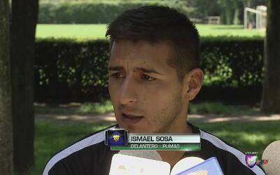 """Ismael Sosa: """"Tenemos que aprovechar que jugaremos contra Chivas en casa"""""""