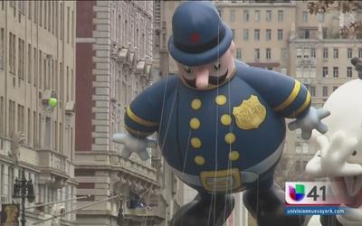 Aumenta la seguridad para el desfile de Macy's del Día de Acción de Gracias
