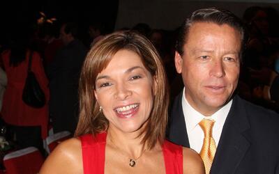 Mary Paz Banquells y Alfredo Adame