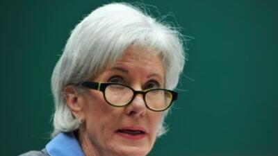 Kathleen Sebelius, Secretaria de Salud de Estados Unidos.