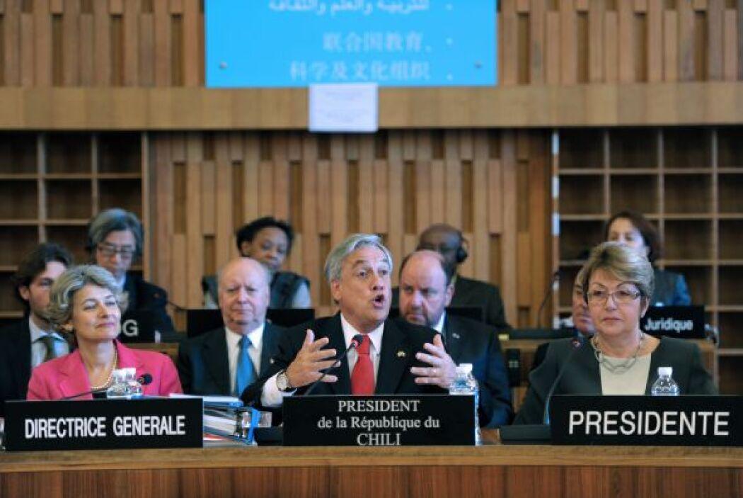 """""""Nuestra meta es que Chile, y también América Latina, sea un país desarr..."""