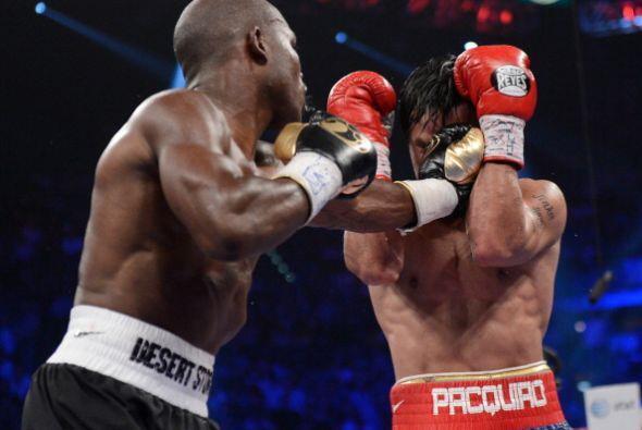 La potencia de los golpes fue algo que faltó en esta pelea.
