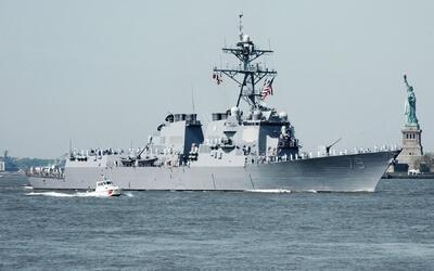 Con un desfile de buques por el río Hudson inician las actividades de la...