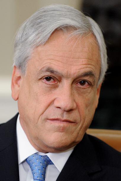 El presidente chileno,Sebastián Piñera, también logró sólo el 38% de po...