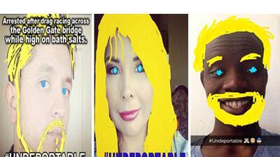 Rubios y ojos azules son 'indeportables'