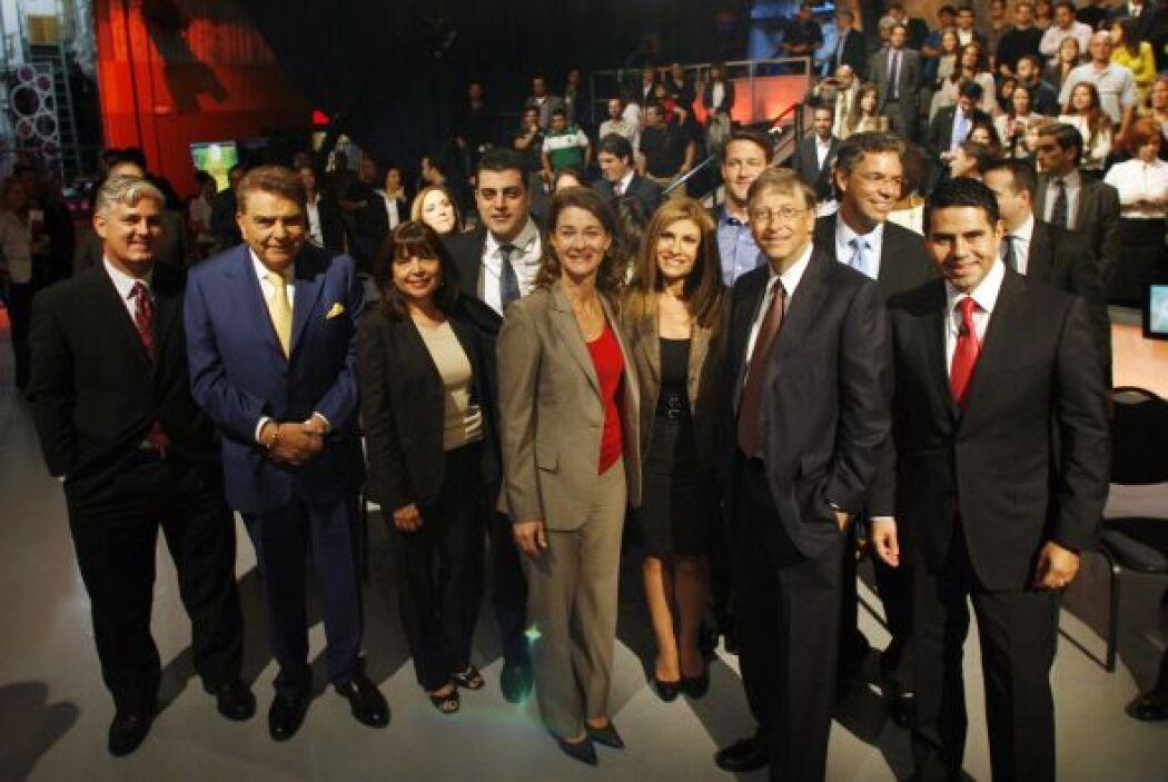 Bill y Melinda Gates son socios de la campaña corporativa de educación d...