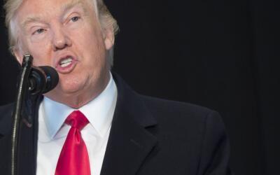 Trump habló por primera vez del tema tras la crecientes cr&iacute...