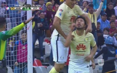 América voló bajo pero logró derrotar a Veracruz 1-0 y pasar a la semifi...