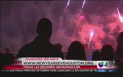 Múltiples celebraciones de fin de año en Houston