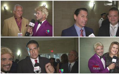 Julio Channel se tiró la tela para ir a entrevistar a los asistentes al...