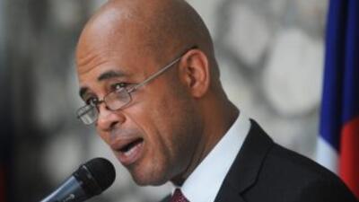 El presidente haitiano, Michel Martelly.