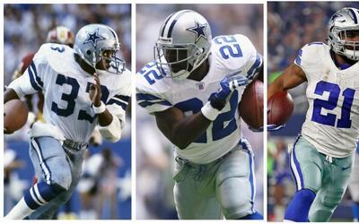 5 corredores de los Cowboys detrás de Emmitt Smith | ¡Feliz cumpleaños #22!