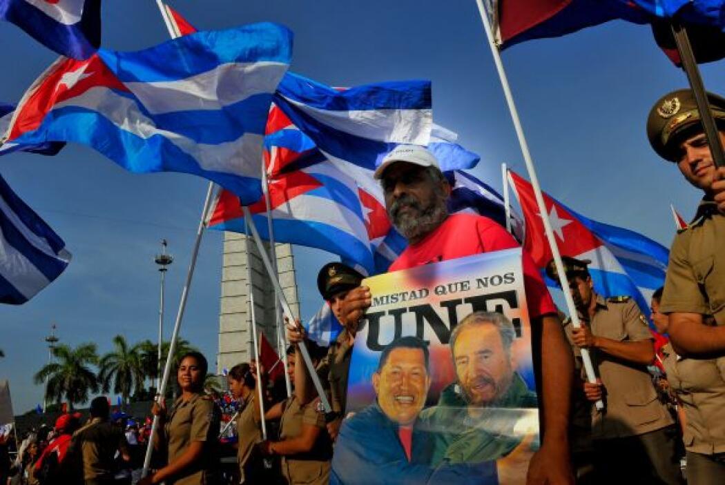 También se lanzaron mensajes de apoyo al presidente de Venezuela.