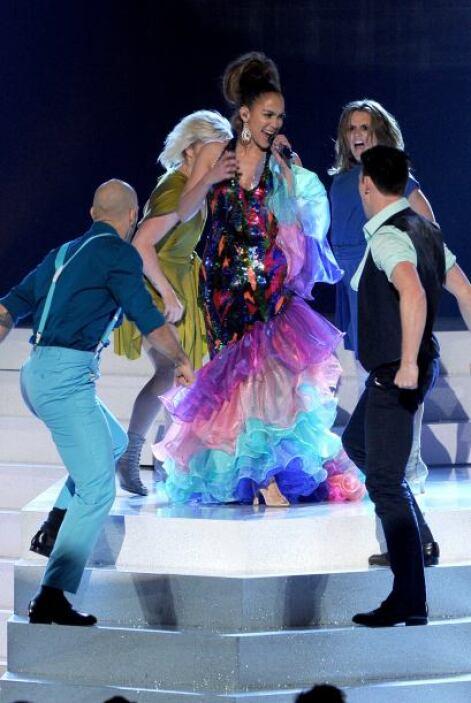 """¡Azúcar! Jlo  López interpretó tres temas de Celia: """"Químbara"""", """"La vida..."""