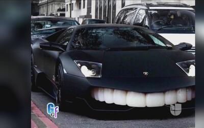 Nicky Jam llevó su coche ¿al dentista?