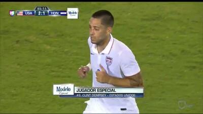 Clint Dempsey hace doble y es el Jugador Especial del EEUU-Honduras