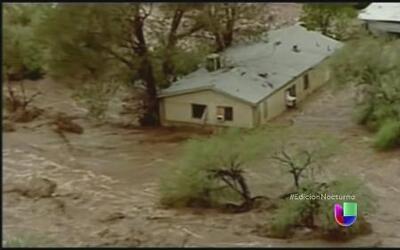Arizona sufre una de sus peores inundaciones