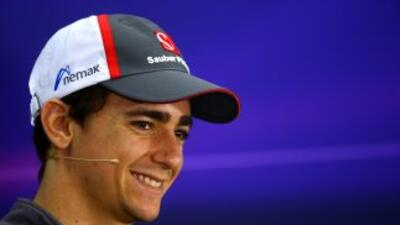 Gutierrez, emocionado por el GP de México.