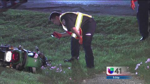 Un accidente de tráfico deja en condiciones críticas a un motociclista