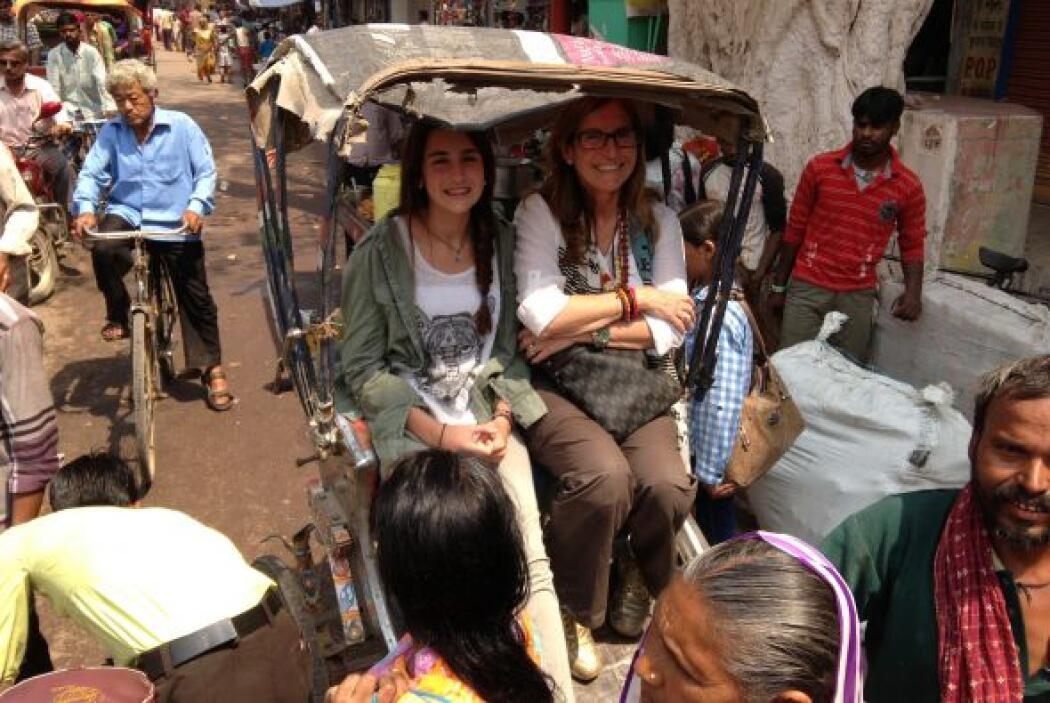 Sin embargo, Mía y Mily fueron muy pacientes para llegar a su destino.