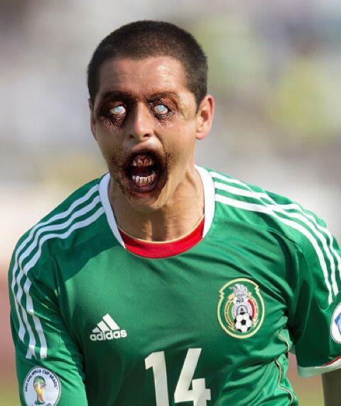 Javier 'Chicharito' Hernández, goleador del Tri que juega en el Real Mad...