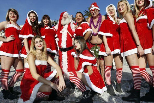 Santa lo volvió hacer, nos recordó que la navidad es la &e...