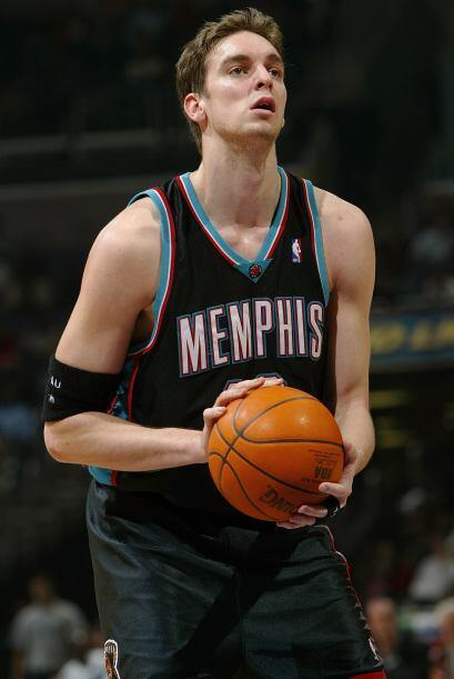 Su hermano mediano, Marc Gasol, también es baloncestista profesional, y...