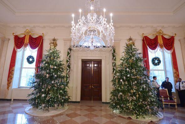 Como era de esperarse la primera dama,  Michelle Obama, fue la encargada...