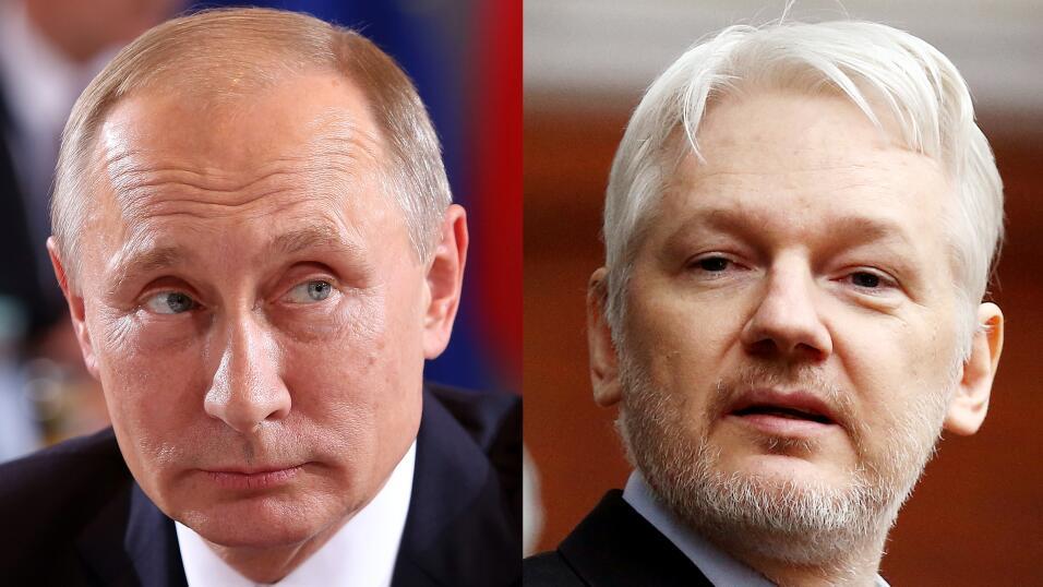 Putin y Assange