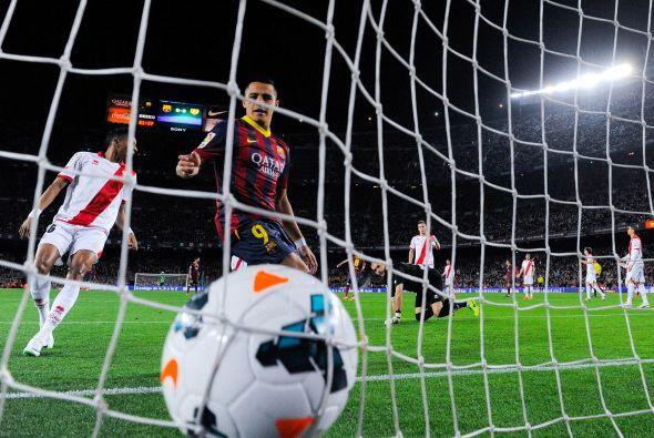 El siguiente fue de Alexis, con un toque de precisión y visi&oacu...