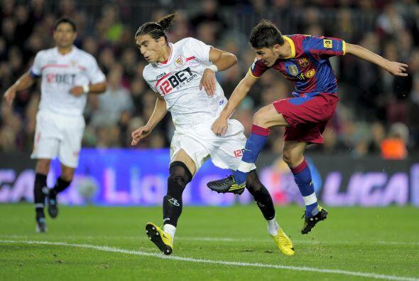 Luego vino David Villa nuevamente para el 5-0 definitivo con un gol pare...