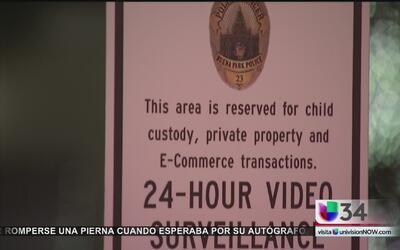 ¿Cómo funciona el área de transacciones seguras de Buena Park?