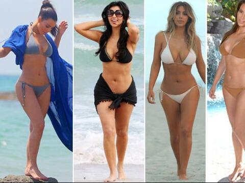 Estas han sido algunas de las tendencias que la famosa se ha atrevido a...