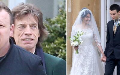 Campanas de boda para la famiia Jagger.