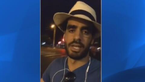 El grafitero cubano conocido como 'El Sexto' es liberado de prisión
