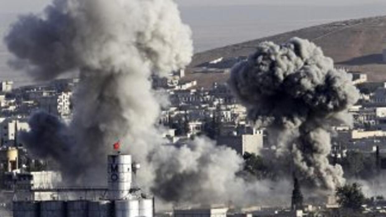 Los enfrentamientos se han intensificado en Kobane.
