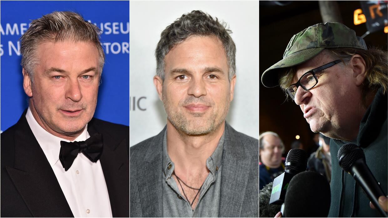 Michael Moore, Mark Ruffalo y Alec Baldwin marcharán en Nueva York contr...